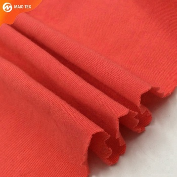 single jersey 95% cotton 5% lycra fabric wholesale from china knitted manufacturer