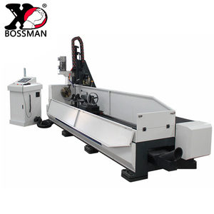 CNC drilling machine for steel construction and steel tower