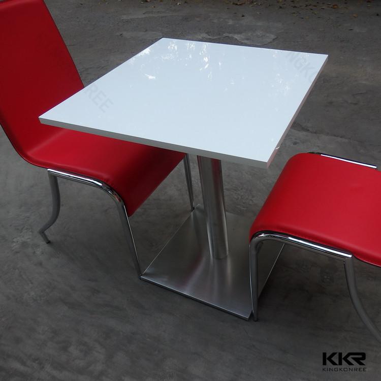 Witte moderne marmeren salontafel, marmeren keuken tafels, lange ...