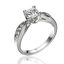 Fashion classical wedding gift crystal jewelry rings engagement ring