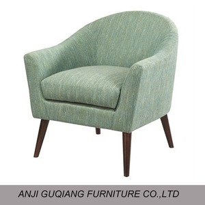 Restaurant Wooden Frame Tub Sofa Chair for Home Furniture