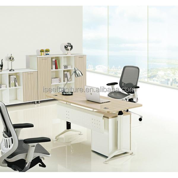 Muebles de oficina fotos de tablas est ndar moderno for Dimensiones escritorio oficina