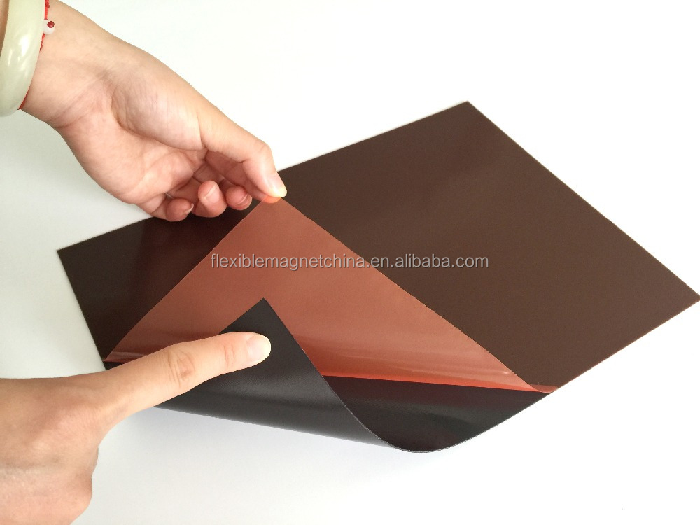 flexible rubber magnet sticker adhesive magnet