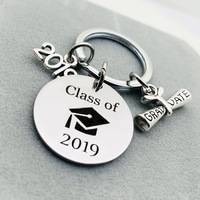 Class of 2019 Graduation Gift - Stamped Penny - Son Gift For Graduation Keychain