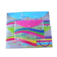 3 Tab custom a3 a4 size office paper document plastic file folder