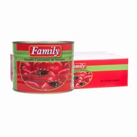 canned tomato paste in drum packing materials