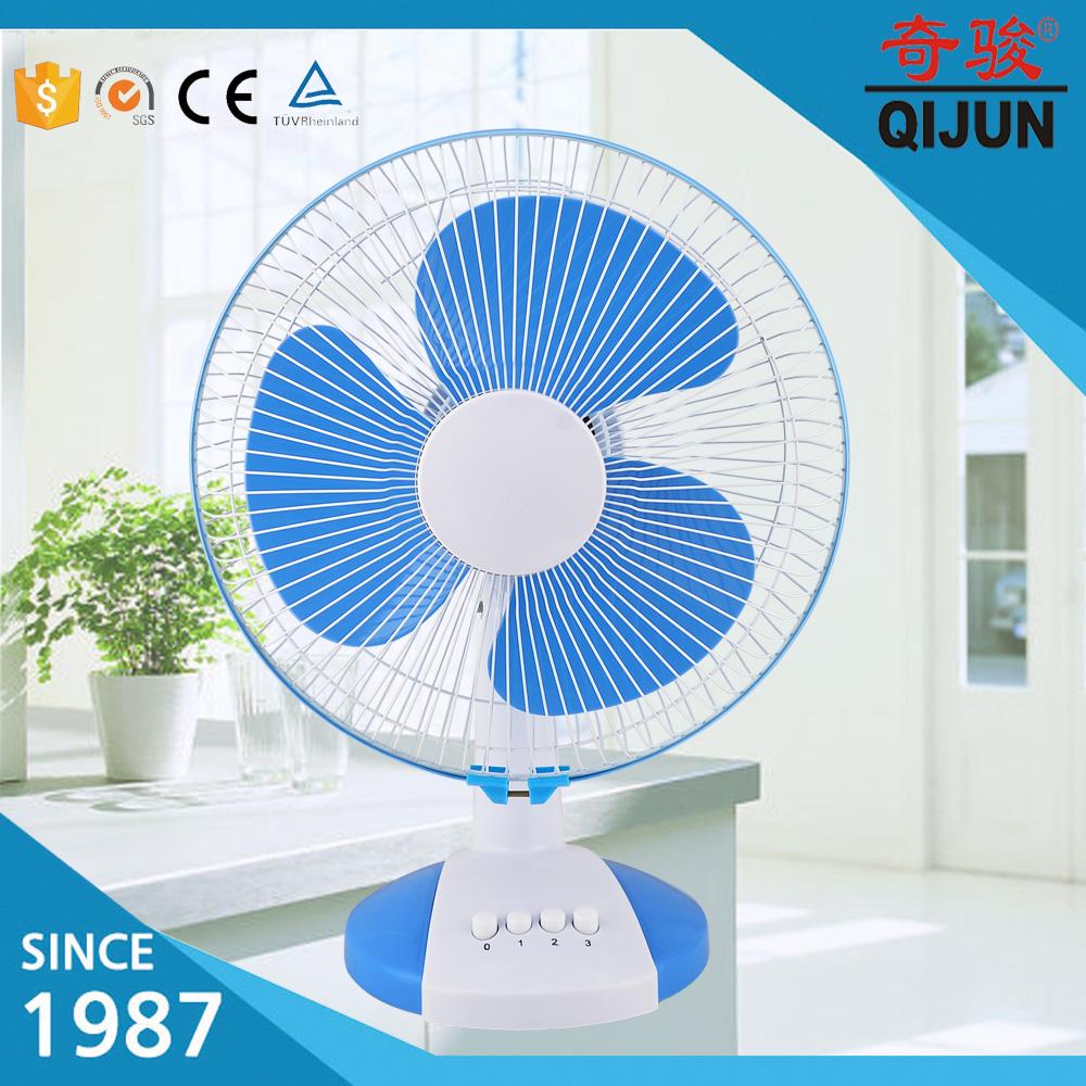 12inch Plastic Table Fan With 100 Copper Desk Motor Desh Price