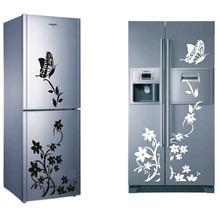 Free shipping high quality creative refrigerator font b sticker b font butterfly pattern font b wall