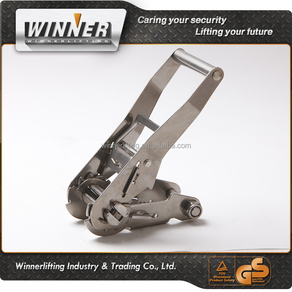 "high quality 1.5"" Wide Handle cargo lashing ratchet buckle"
