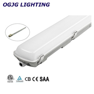 CE CB SAA ETL DLC car park batten lighting fixture motion sensor emergency lamp commercial waterproof 48w led work light