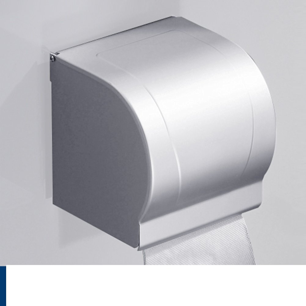 Bathroom waterproof toilet paper tray/Tissues/Hygienic tray/Space aluminum toilet paper holder/Tray/ toilet roll holder-C
