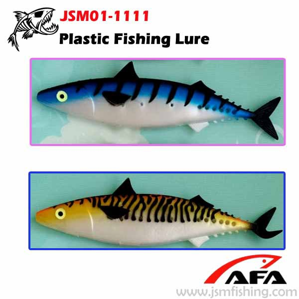 Free Samples Big Game Mackerel Fish Rubber Lure Fish Soft Plastic ...