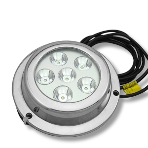 IP68 18W LED Round Marine Underwater Boat Yacht Light