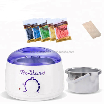 Special Design Pearl White LCD Display Wax Warmer Melting Pot Hair Removal Liposoluble Wax Heater