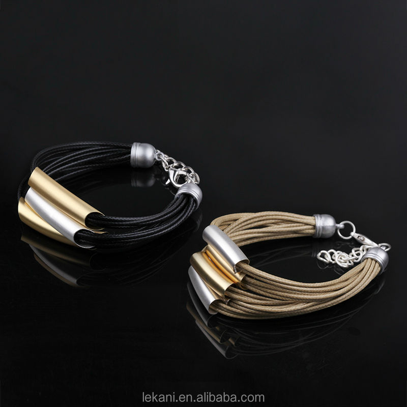 Charming Popular Mixed Styles Rope Bracelet Hand Chain For Men