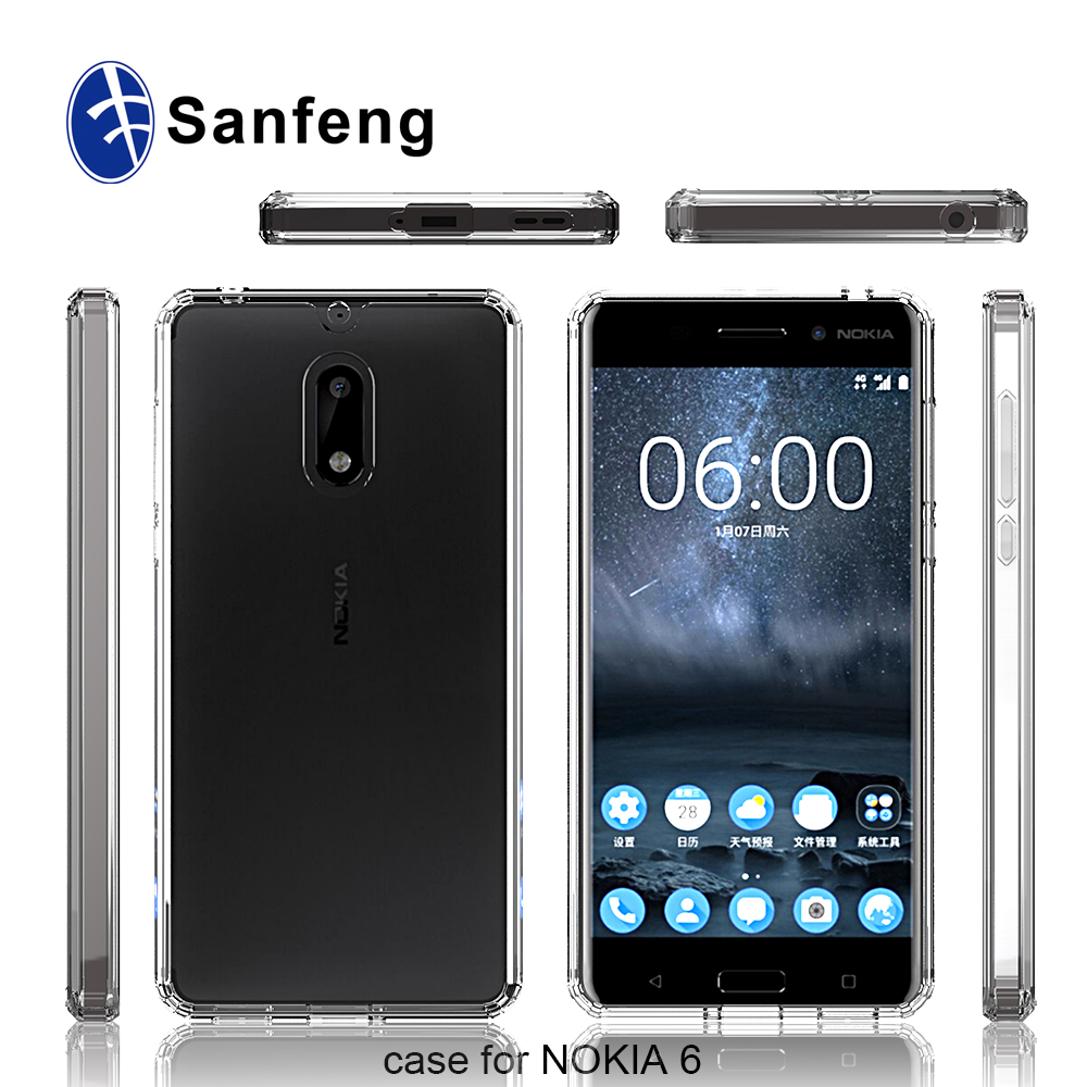 cheaper e77a7 360a5 Latest Transparent Clear Case Cover For Nokia 6,Acrylic Case For Nokia 6 -  Buy Case Cover For Nokia 6,Case For Nokia 6,Acrylic Case Product on ...