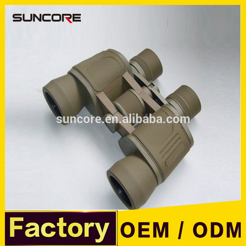 SUNCORE LR8x40 Binoculars Telescope Khaki Colour and Large Eyepiece Diameter