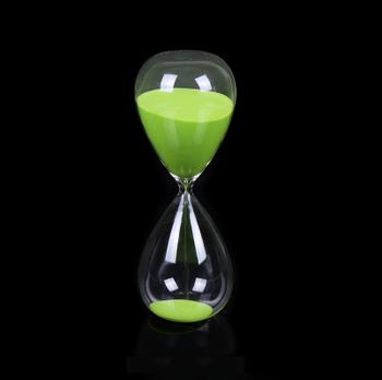 Большие песочные часы стеклянный песочный таймер 30 минут 45 минут песочные  часы дешевые оптовая продажа af348bc2acba5