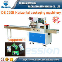 mint packing machine / pillow type candy wrapping machine