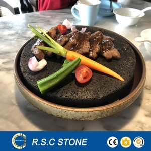 lava stone cooking grill stone