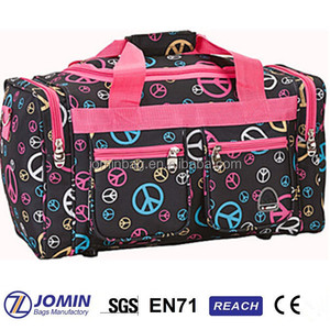 wholesale girls dance duffel bag, luggage cloth, luggage travel gear bag