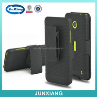 Factory price belt clip holster combo case for nokia lumia 630