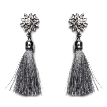 new statement silk thread earrings earring factory alibaba china