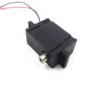 3v 5v 6v dc micro gear motor with black shell for automatic smart door lock
