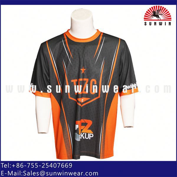 2013 hot selling polyester custom sublimation t sh