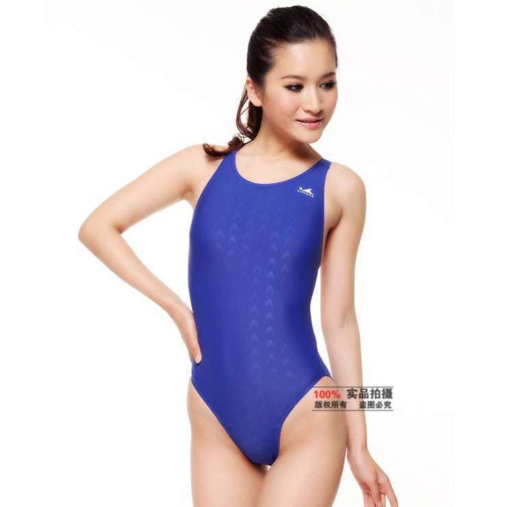 b7f6e08f5acc0 Yingfa classic one piece training competition waterproof sharkskin  resistant women s swimwear plus size bathing suits