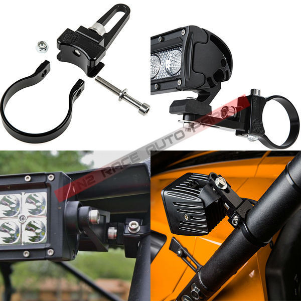 Universal Led Work Light Mount Clamp/led Light Bar Clamps With ...