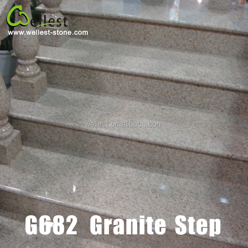 Дешевые гранитные каменные лестницы G682 гранитные ступени и стояки