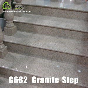 Cheap Granite Stone Stair G682 Granite Steps And Risers