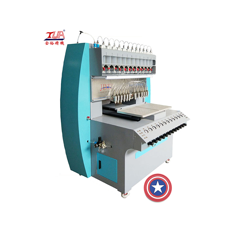 Intelligent dispensing machine of pvc/silicone product