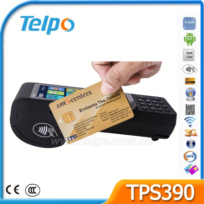 Reliable Reputation WIFI Mobile Payment Small Business POS For Loyalty Programme Management