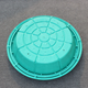 garden manhole covers/ Grass Manhole Cover SMC Composite EN124 B125