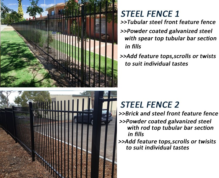 Powder Painted Black Color Iron Fence Spikes Best Ing In
