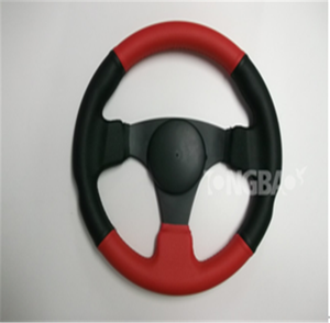 2 seat dune 265mm go kart steering wheel for electric buggy