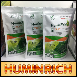 """Huminrich"" Lowest Impurity Levels Dissolves Readily Organic Fertilizer Buyers"