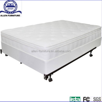 Twin Queen King Metal Bed Frame Bed Foundation Smart Base Box Spring ...