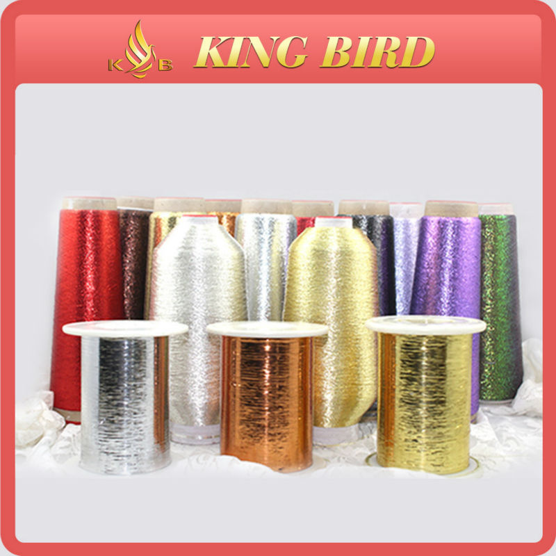 m type japanese metallic knitting yarn