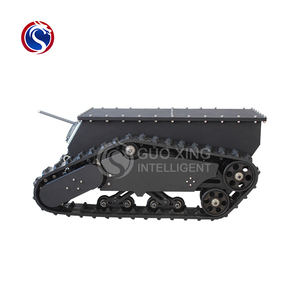 PLT1000 IP66 robot chassis for firefighting, patrol inspection ,security equipment
