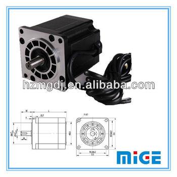 Mige frame size 110mm nema 43 stepper motor buy nema 43 for Servo motor frame sizes