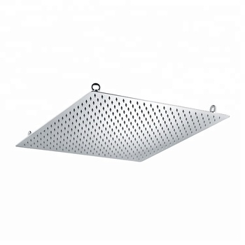 PD wall mounted ultrathin rainfall shower head for bathroom 50*50CM