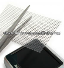 Universal screen protector for MP3/GPS/Camera/PSP