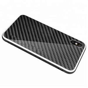 High Quality New 6.1 6.5inch TPU PC Mobile phone cover Real Carbon Fiber Phone Case and Accessories For iPhone 7/XR/XS Max