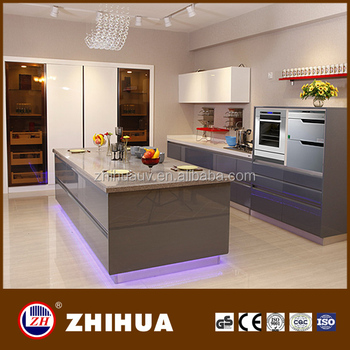 particle board carcass kitchen cabinets with melamine door panel ...