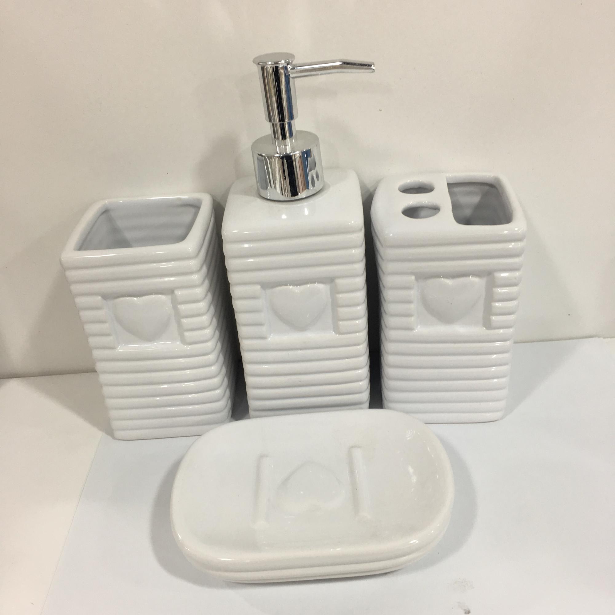 Cheap Price Eco Friendly Porcelain Bathroom Set Ceramic