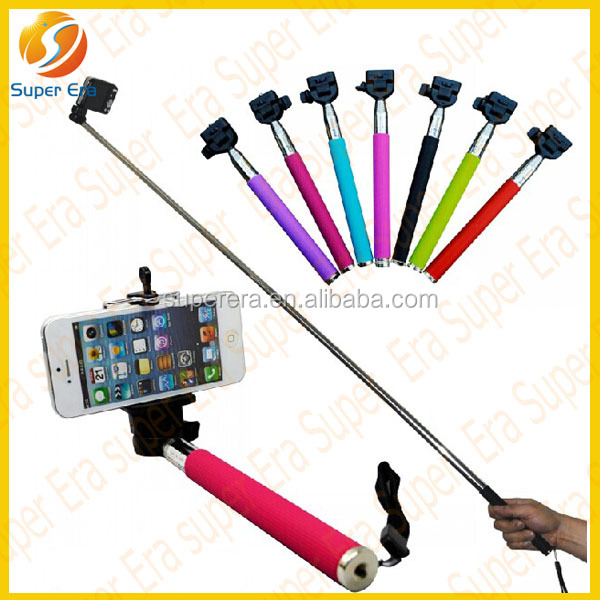 2014 new items mobile phone legoo selfie stick with bluetooth remote control shutter -wholesale cheap price