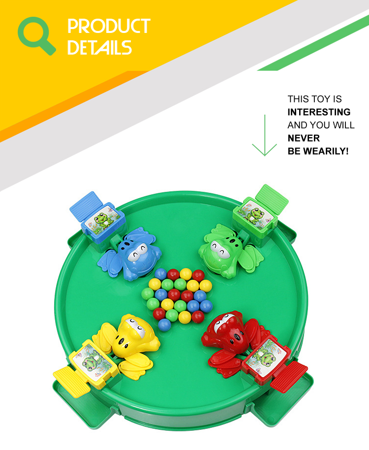 4 hungry frog scramble beads interactive board game for kids compective